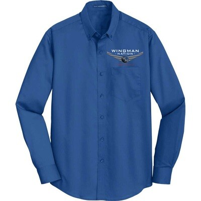 Port Authority® SuperProTM Twill Shirt