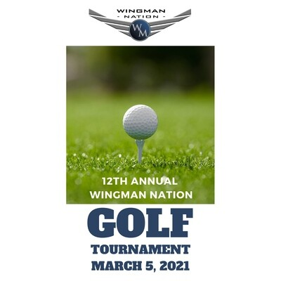 12th Annual Wingman Nation Golf Tournament - Platinum Sponsorship