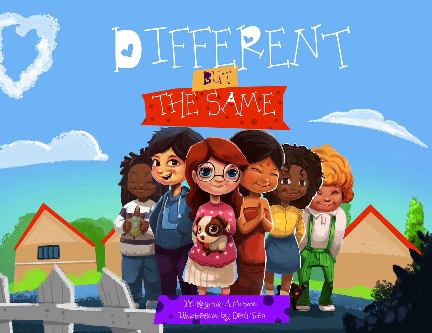 Different But The Same (Paperback+Cartoon Audiobook+Worksheets)