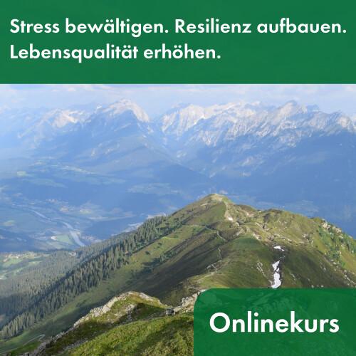 Online-Präventionskurs Stress bewältigen. Resilienz aufbauen. Lebensqualität erhöhen.