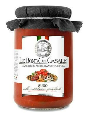 Sauce with grilled vegetables 280gr