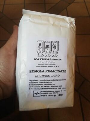 Durum wheat flour Ground semolina