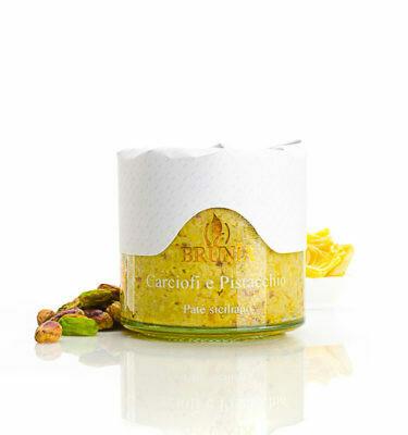 Artichoke and pistachio cream