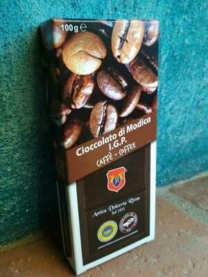 Chocolate Modica IGP coffee 100g