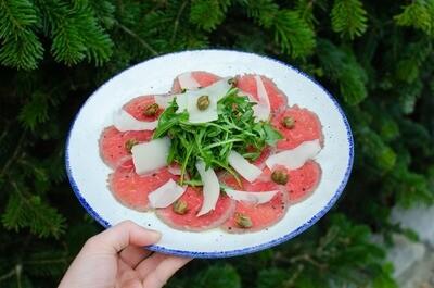 Beef Fillet Carpaccio