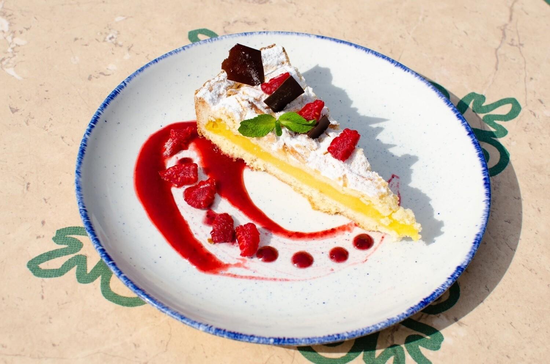 Torta della Nonna - Vanilla cake