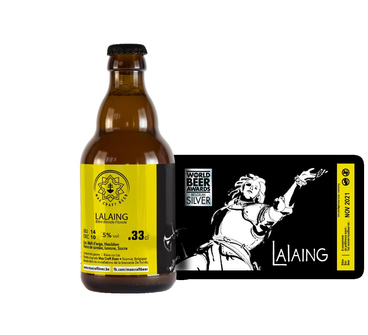 Lalaing Blonde Florale - Carton de 12 bouteilles 33cl