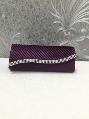 Damenhandtasche in Violett