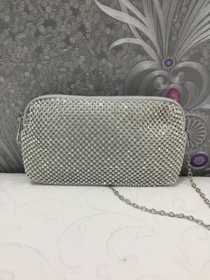 Damenhandtasche in Silber