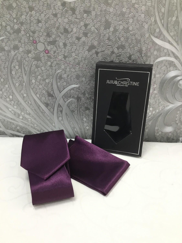 Krawatte in Violett