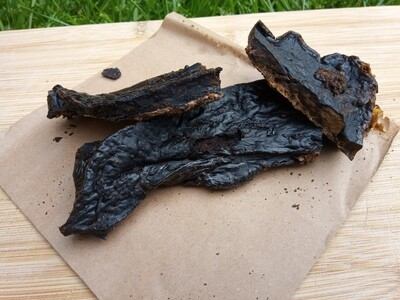Dried Beef Liver Pieces (40 grams or more)