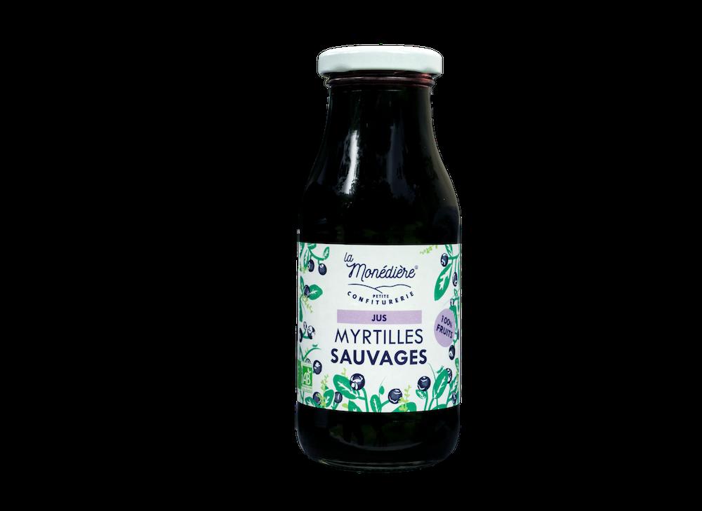 Pur Jus de Myrtilles sauvages  25cl