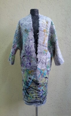 Пальто ручной работы