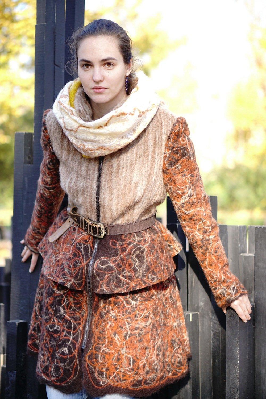 Пальто «Теплая осень»