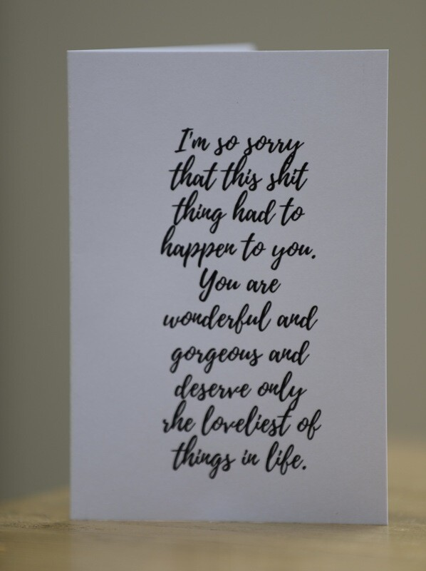 'You're Wonderful' Card