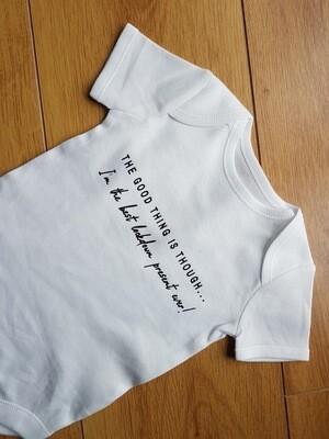 Lockdown Baby Vest