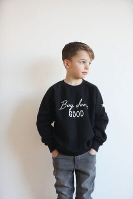 Boy Done Good Kids Sweatshirt