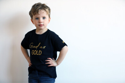 Good As Gold Kids T-shirt