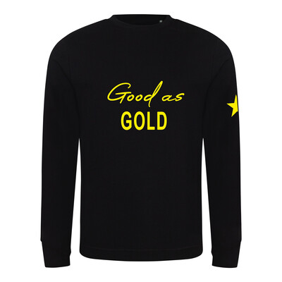 Good As Gold Kids Sweatshirt
