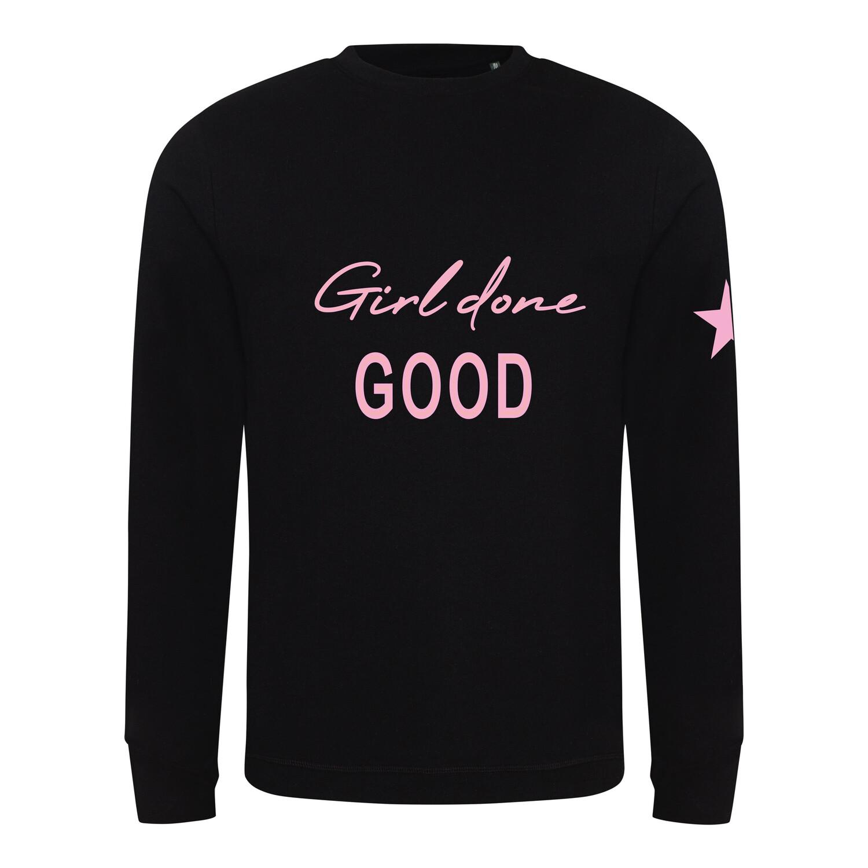 Girl Done Good Kids Sweatshirt