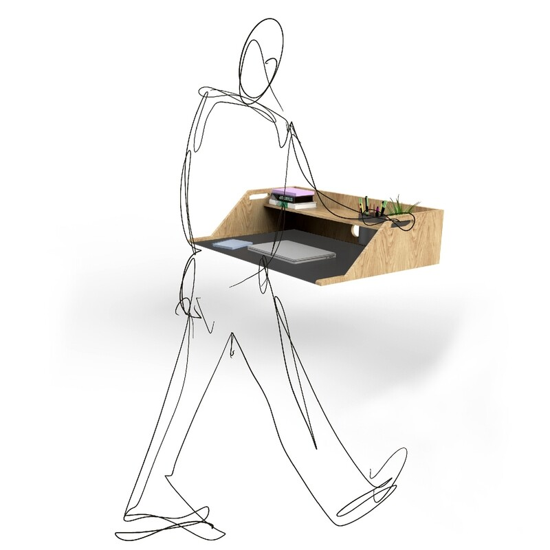 Bento Table Wooden Desktop