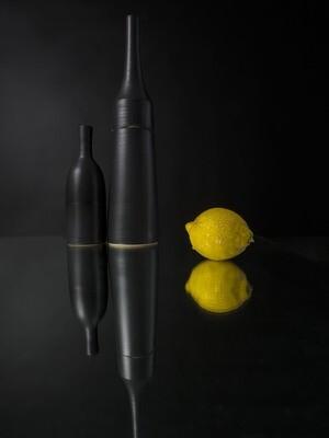 Monochrome noir au citron