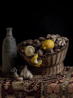 Bouteille de Ger aux citrons