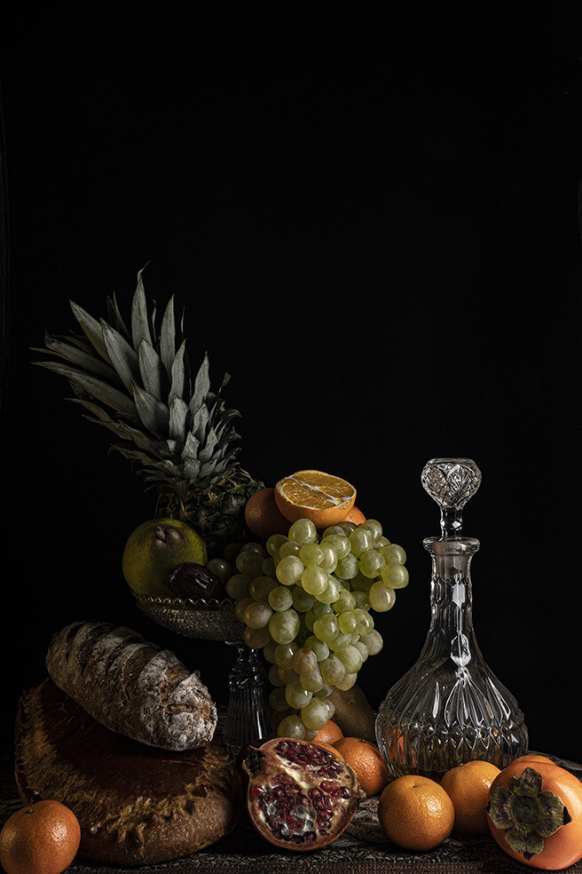 Coupe de fruits à l'ananas