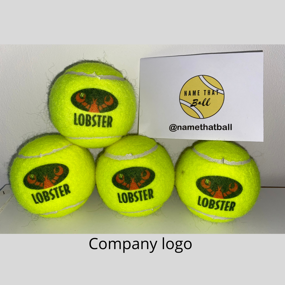 NTB Personalised Adult's Tennis Balls - Personal Logo Edition