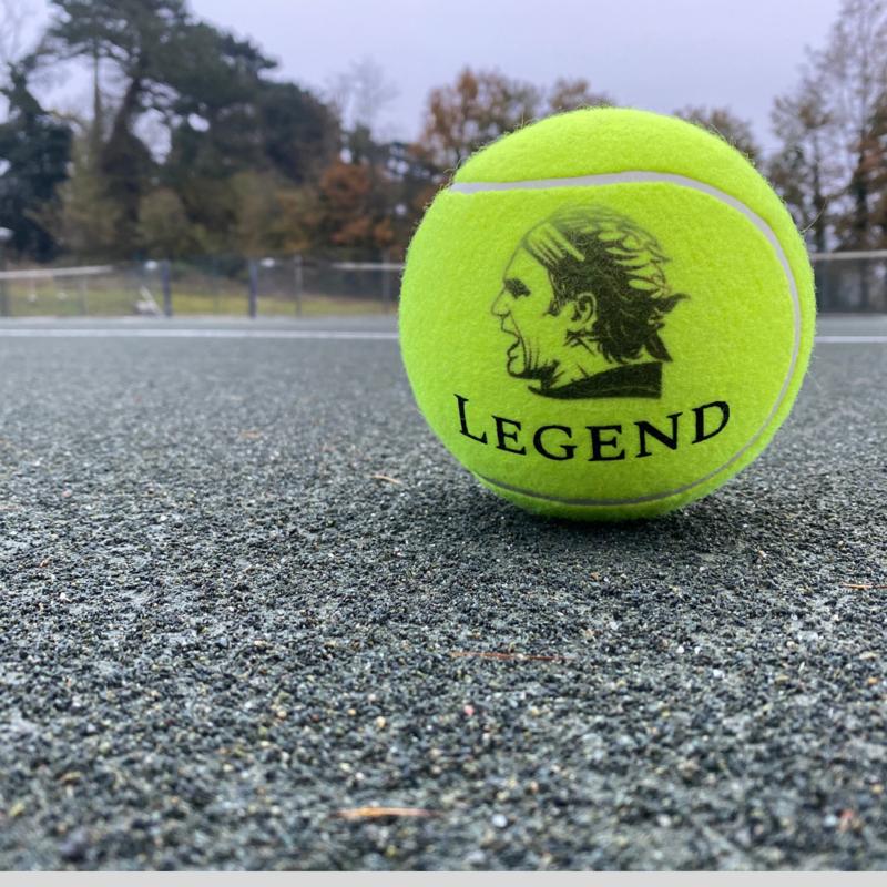 NTB Personalised Medium Tennis Ball - Iconic Tennis Players Edition