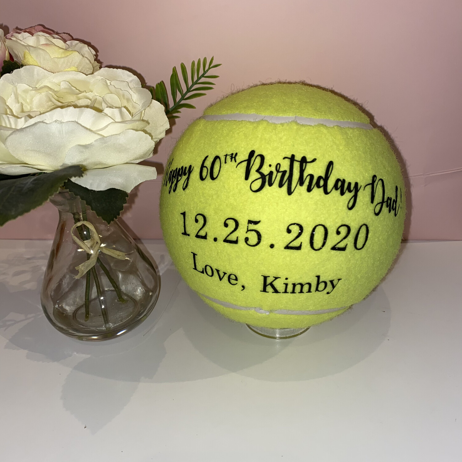 NTB Personalised Medium Tennis Ball