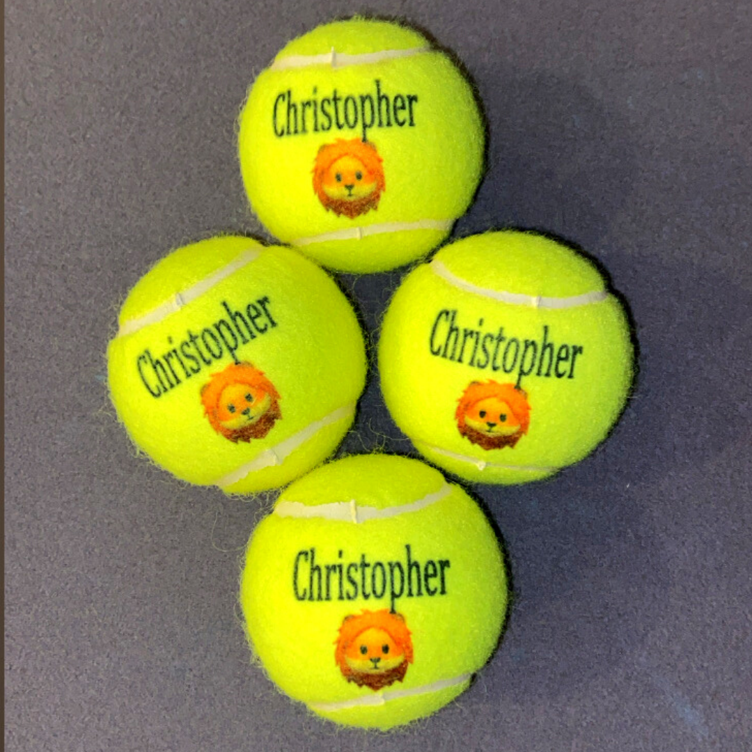 NTB Personalised Adult's Tennis Balls - Emoji Edition