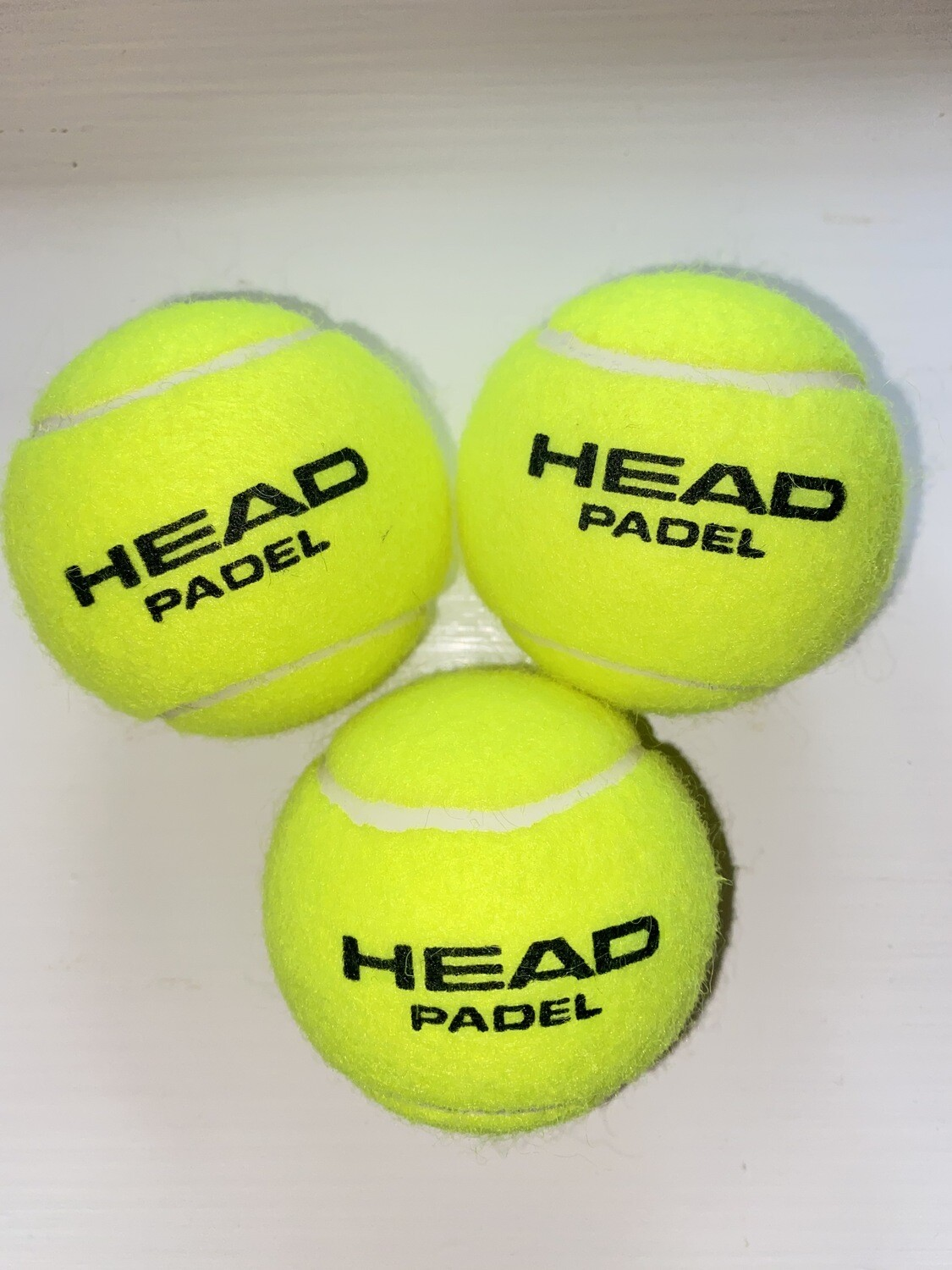 NTB - Personalised Padel tennis balls - Standard text edition