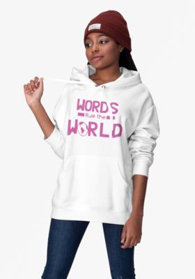 Women's Hoody Words Rule The World