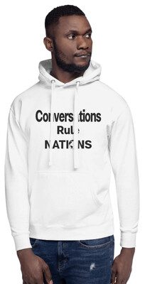 Men's Hoodies Conversations Rule Nations