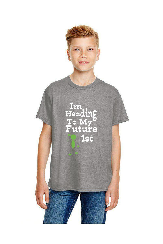 Kid's Wear I'm Heading To My Future (Head) 1'st