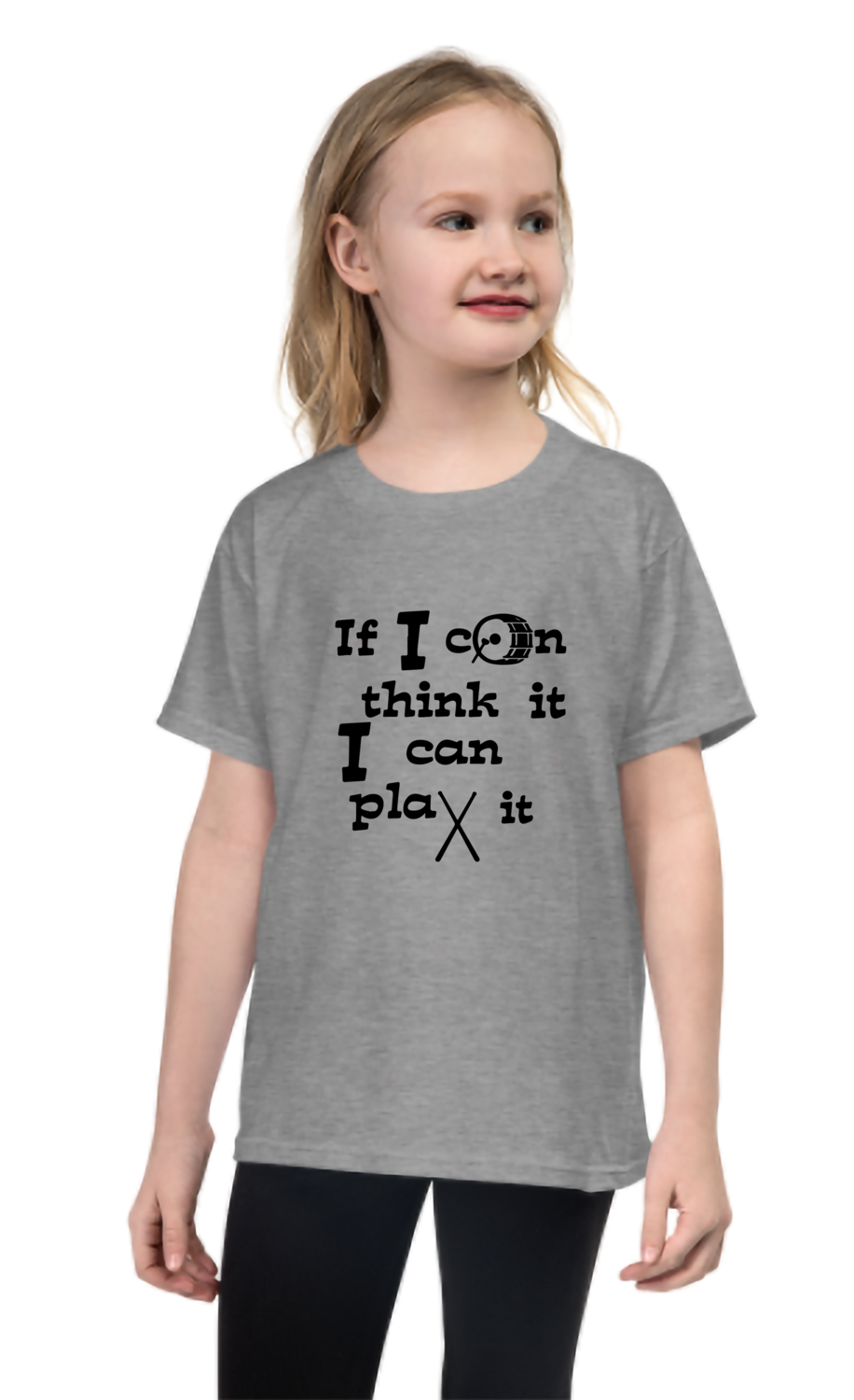 Kid's Wear IF I CAN THINK IT I CAN PLAY IT