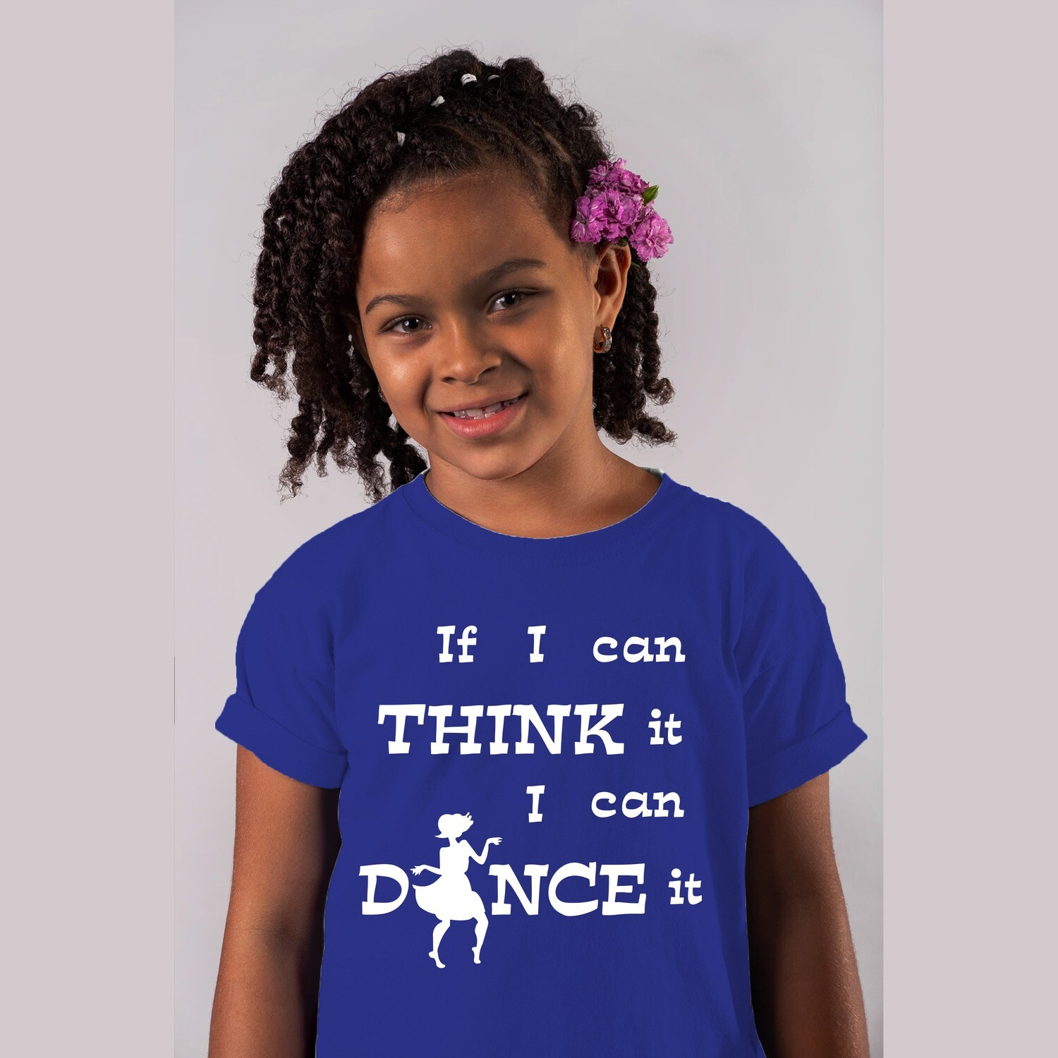 Kid's Wear IF I CAN THINK IT I CAN DANCE IT