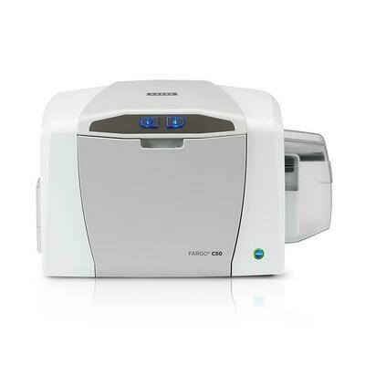 HID FARGO C50 Single-Sided ID Card Printer