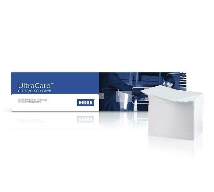 HID Ultracard Blank PVC Cards