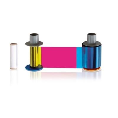 FARGO HDP5000 YMCK 500 Print Ribbon