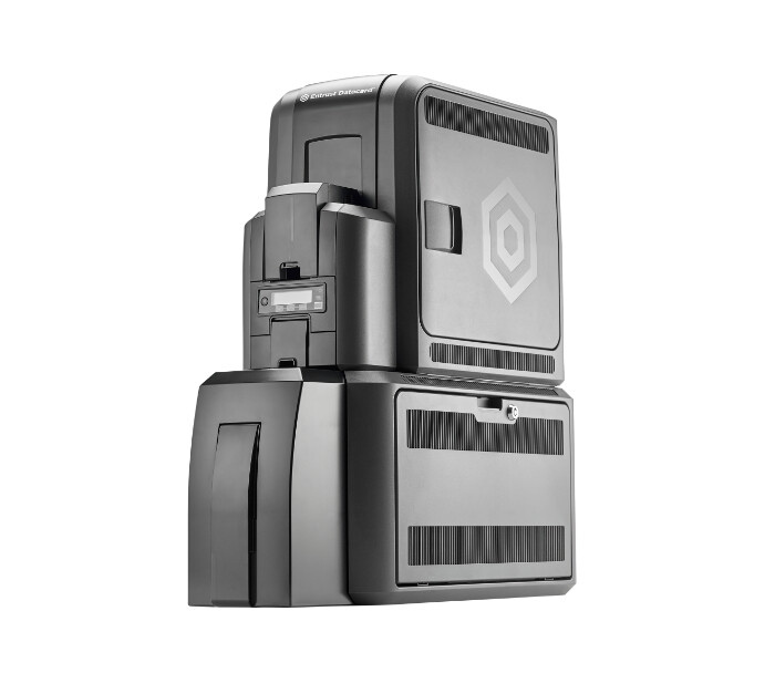 Datacard CR805 Card Printer with Lamination & Tactile Impression