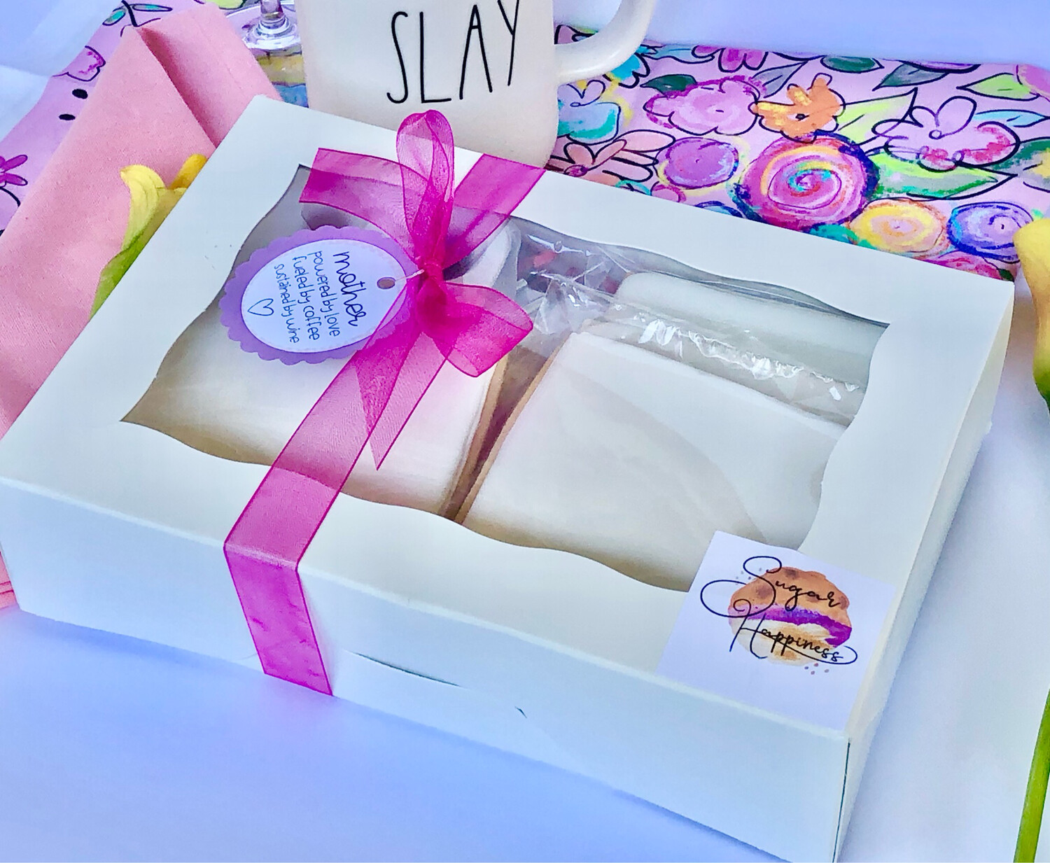 Mother's Day Sugar Cookie Kit and LIVE Painting Party