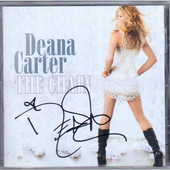 The Chain – Deana Carter Autographed CD