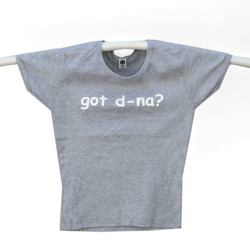 Got d-na? Girls T-shirt - Grey - (Medium)