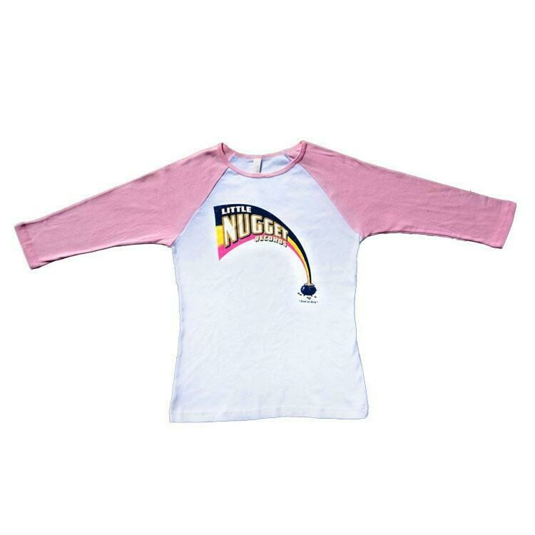 'Little Nugget' Pink Raglan - MEDIUM