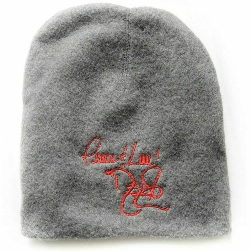 Peace and Love Wool Beanie