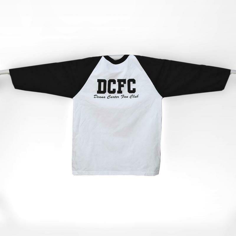 Deana Carter Fan Club - DCFC 90s Retro T-shirt - SMALL