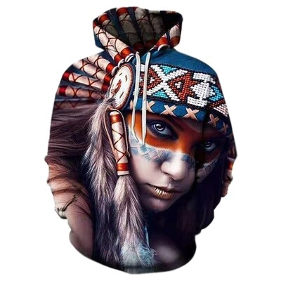 3D Hoodie-Girl