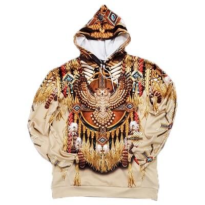 3D Hoodie-Owl